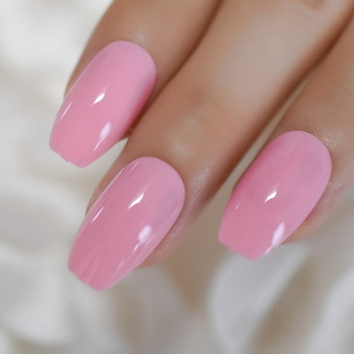 Perfectly Pink Nails