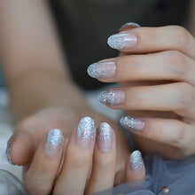 Load image into Gallery viewer, Glitter Angel Nails