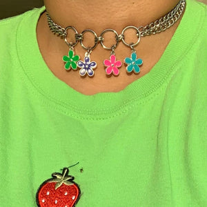 Beach Flower Choker