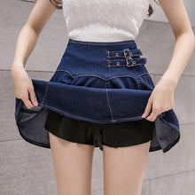 Load image into Gallery viewer, blue denim skirt