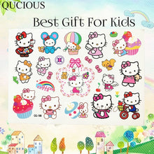 Load image into Gallery viewer, hello kitty temporary tats