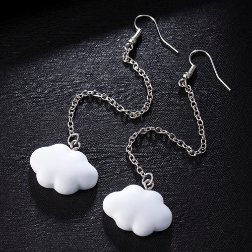Cloud Drop Earrings