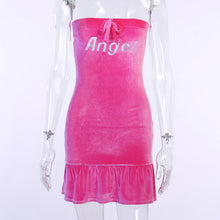 Load image into Gallery viewer, Angel Velour Dress