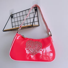 Load image into Gallery viewer, Y2K Heart Mini Purse