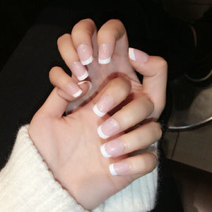 Classic Girl French Tips