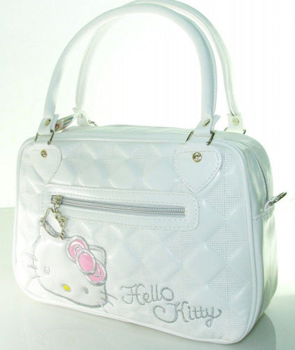 White Princess Kitty Handbag