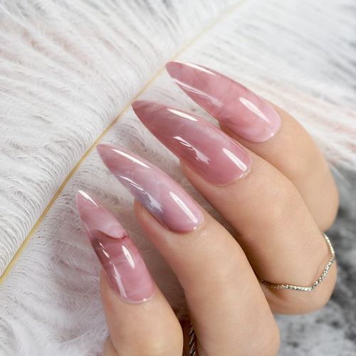 Marble Princess Nails