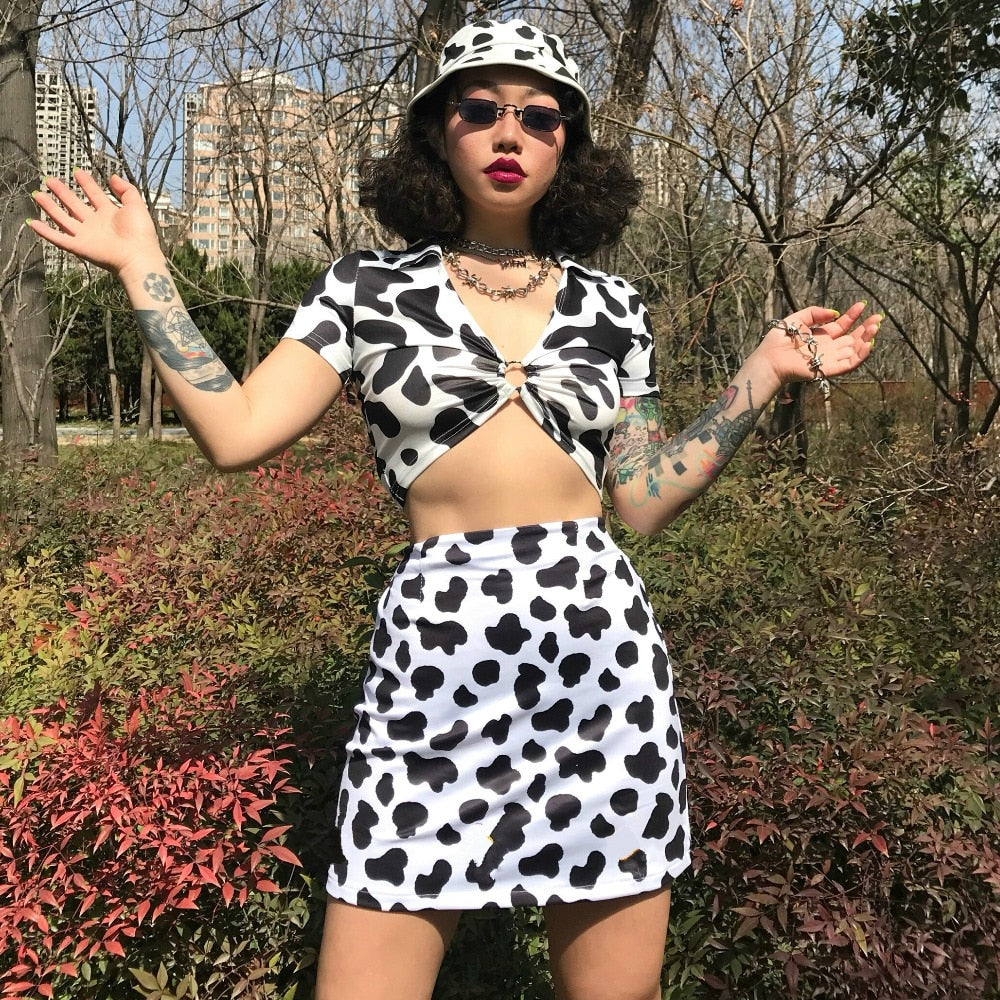 Cow Girl Set - yourbabezboutique