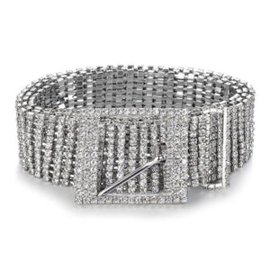 Rhinestone Glam Belt - yourbabezboutique