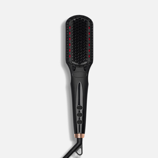 Amika iRed Polished Perfection Straightening Brush 2.0