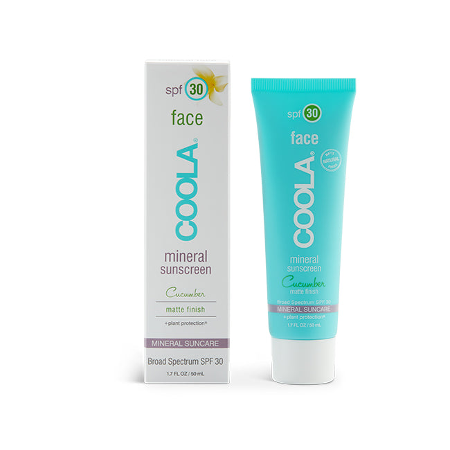 Coola Mineral SPF 30 Matte Cucumber Sunscreen