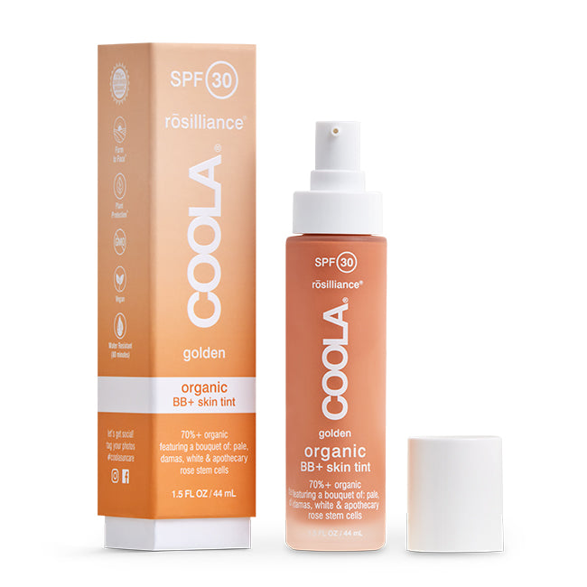 Coola Rosilliance Mineral BB+ Cream Tinted Organic Sunscreen SPF 30 GOLDEN