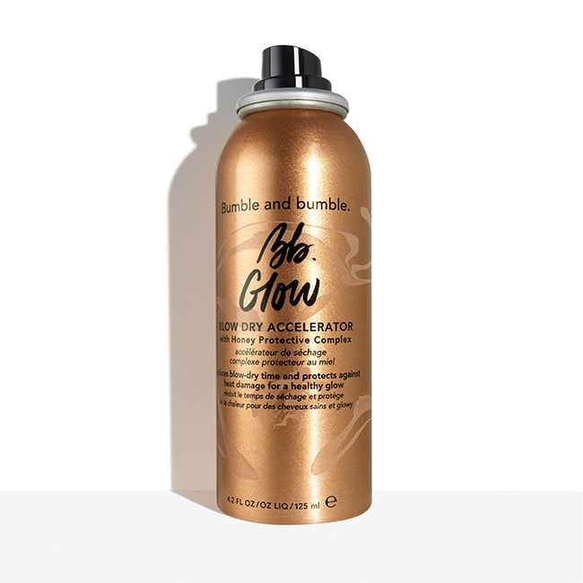 Bumble and bumble. Glow Blow Dry Accelerator