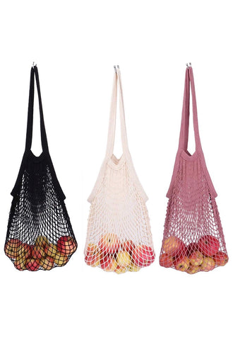 Organic Cotton String Mesh Bag