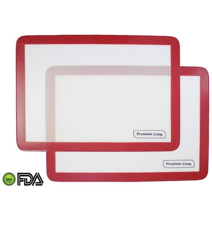 Silicone Baking Mats - set of 2