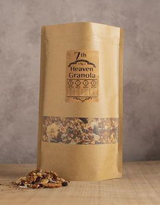 7th Heaven Granola 750g - Refill Bag 4 Pack - BakeNTukka