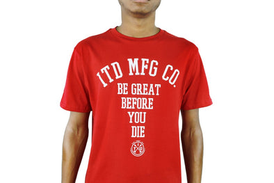 ITD MFG Co Tee Red