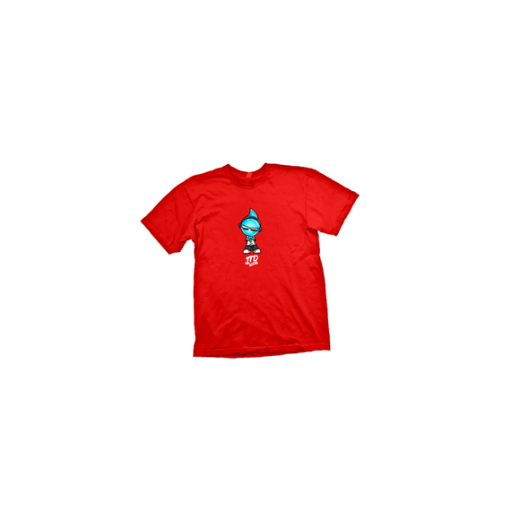 RED ITD DROPMAN TEE