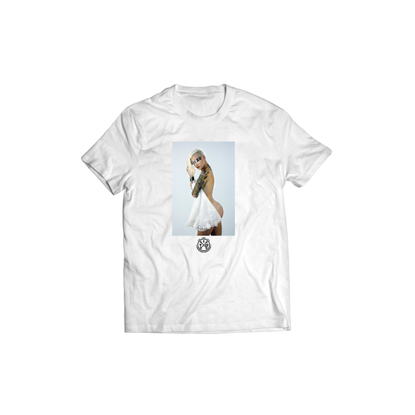 ITDSB Atomic Blonde- White Tee