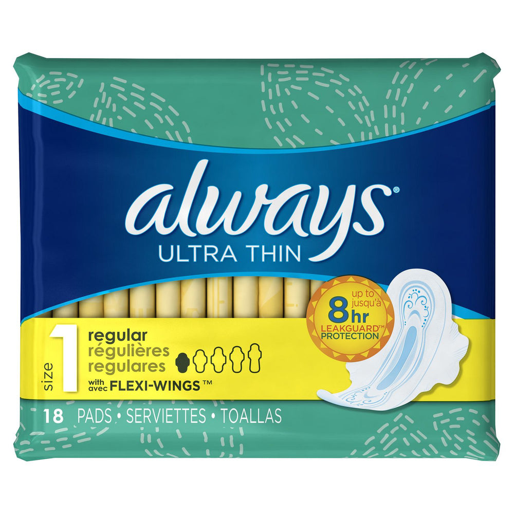Always Ultra Thin Pads - 18