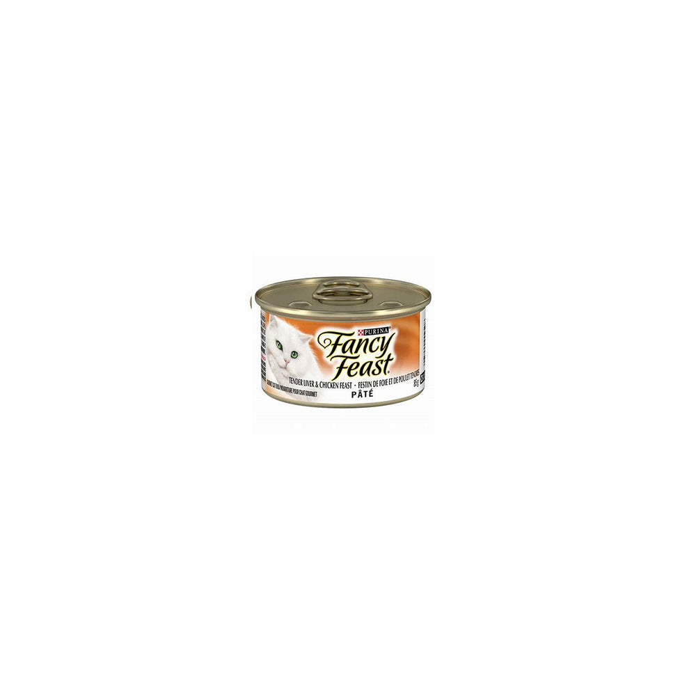 Fancy Feast, Tender Liver & Chicken Pate - 85 g