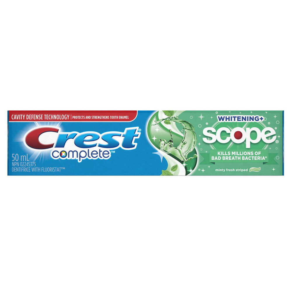 Crest Complete Toothpaste w/ Scope