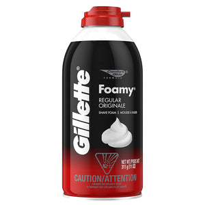Load image into Gallery viewer, Gillette Foamy Shaving Cream  - 311g
