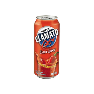 Load image into Gallery viewer, Mott's Clamato Extra Spicy - 458 ml
