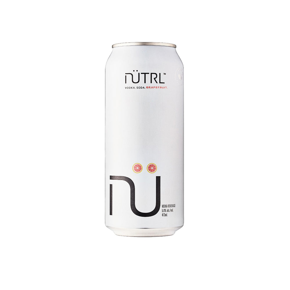 Nutrl Grapefruit, Vodka Soda 473 mL