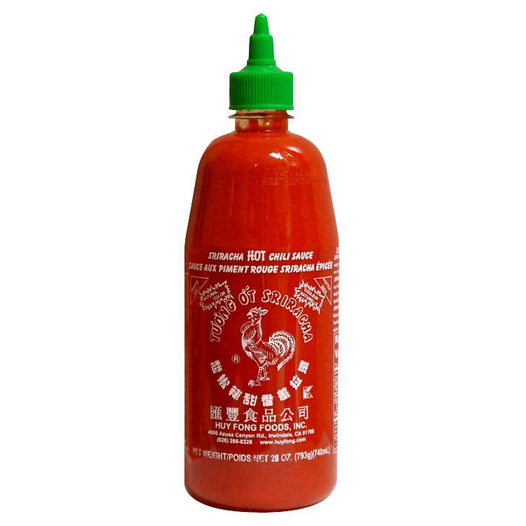 Load image into Gallery viewer, Sriracha Hot Chili Sauce - 740 ml