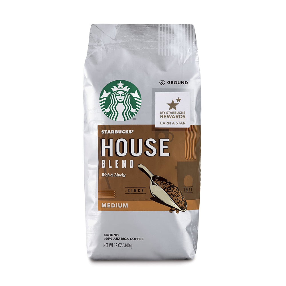 Load image into Gallery viewer, Starbucks, House Blend Medium Roast - 340g