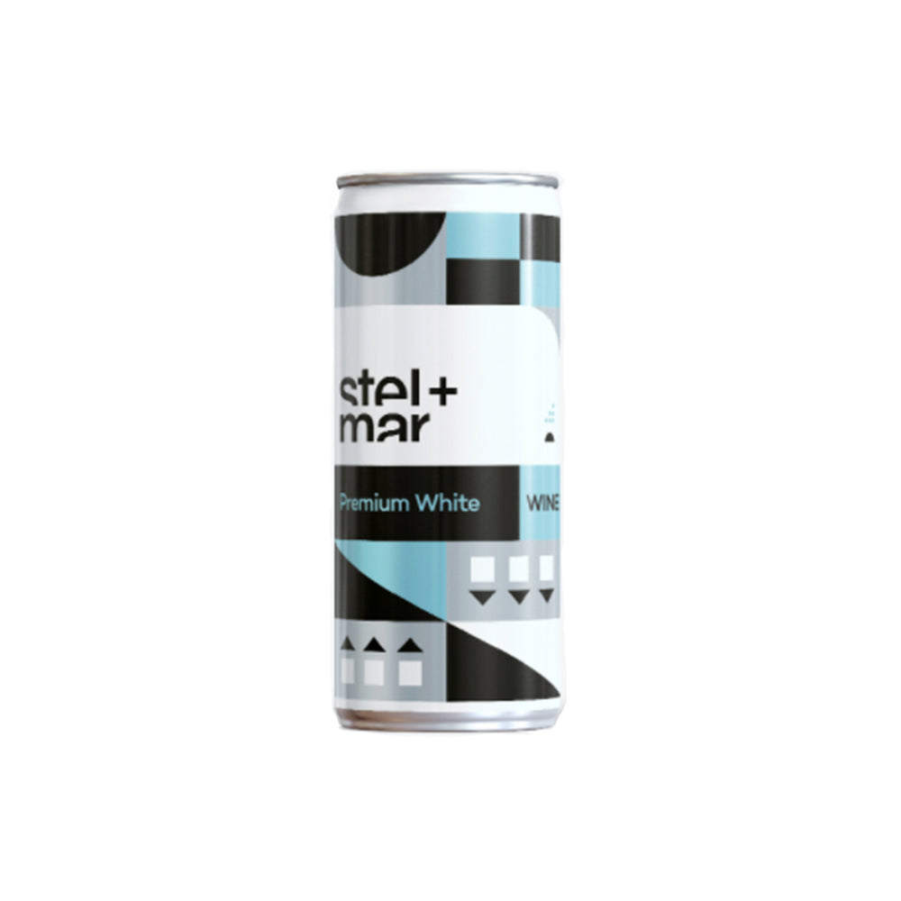 Stel + Mar Premium White Wine - 250mL