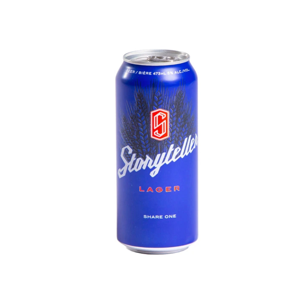Load image into Gallery viewer, Storyteller Lager - Beer - 473mL