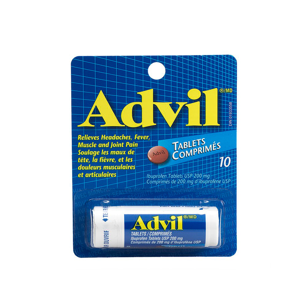 Advil - 10 Tablets Carry Size