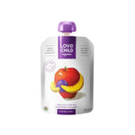Love Child Organics Puree Superblends,  Apples/Bananas/Blueberries - 128 mL