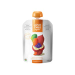 Love Child Organics Puree Superblends, Sweet Potatoes/Carrots/Apples/BlueBerry - 128 mL