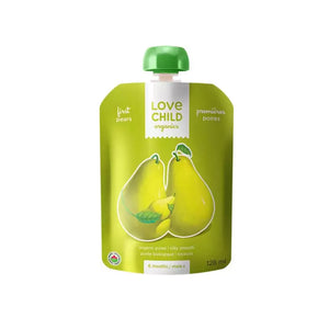 Load image into Gallery viewer, Love Child Organics Simple Firsts, Pears - 128 mL