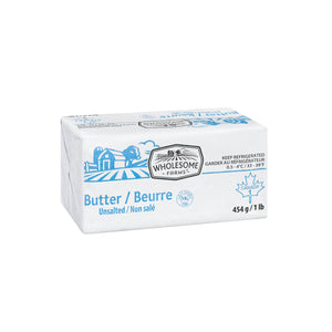Wholesome Farms Unsalted Butter - 454 g