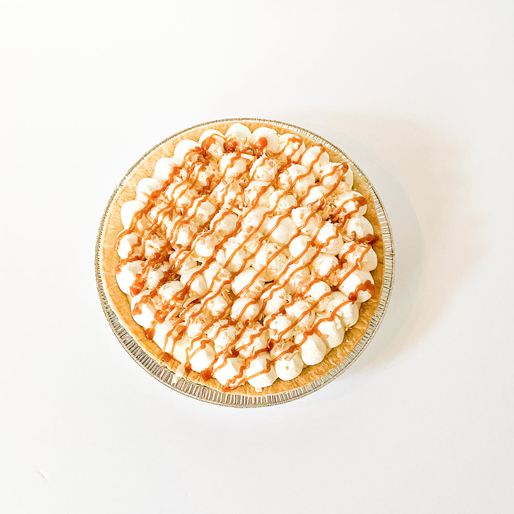 Coconut Caramel Cream Pie