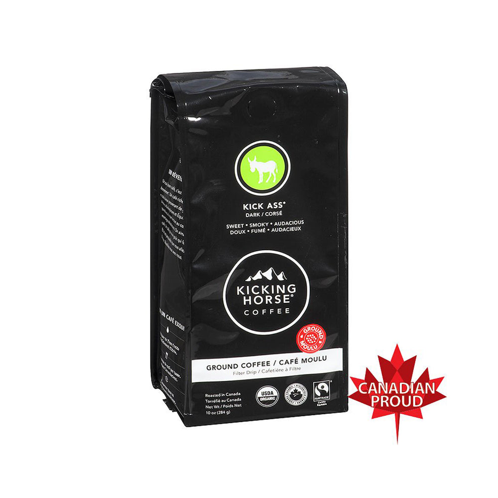 Kicking Horse Coffee, Kick Ass Ground Dark - 284g