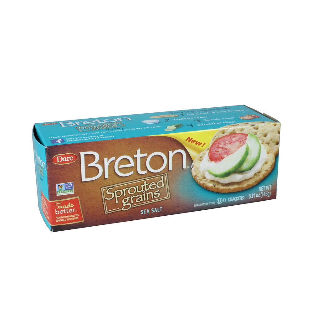 Load image into Gallery viewer, Breton Sprouted Grains, Sea Salt - 145g