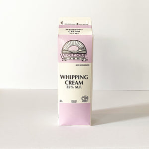 Whole Farms, 35% Whipping Cream - 1 L