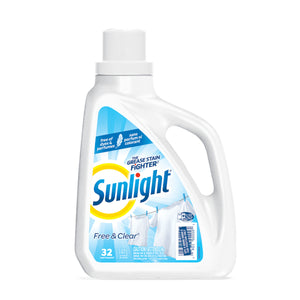 Sunlight Free & Clear, 32 Loads - 1.47 L