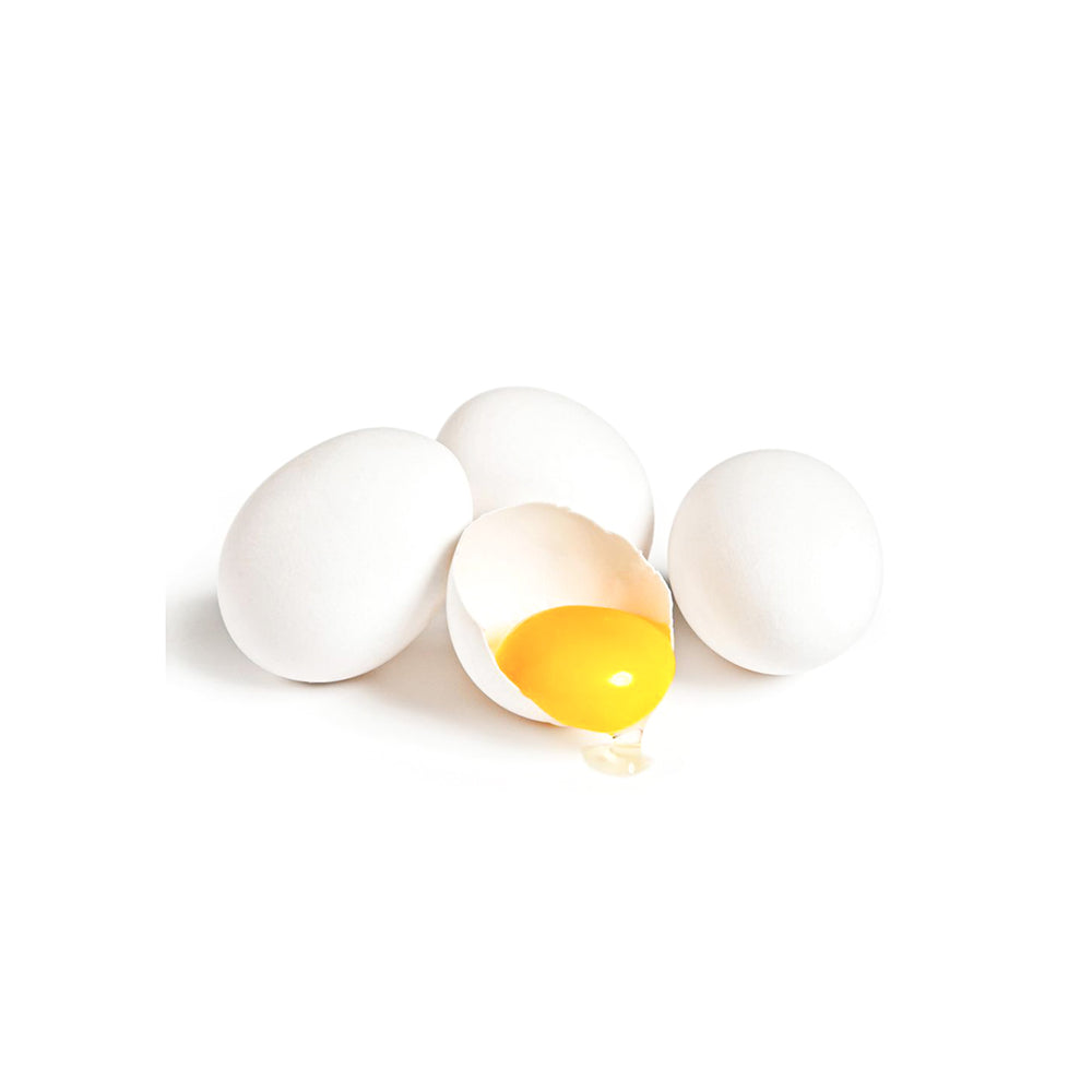 Wholesome Farms White Eggs - 12 pack