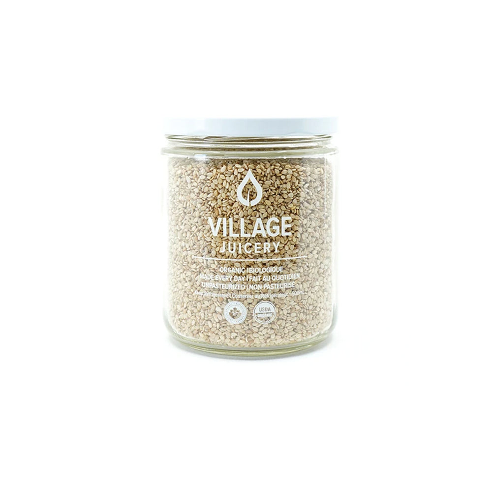 Load image into Gallery viewer, Village Juicery Organic Raw Sesame Seeds - 300g