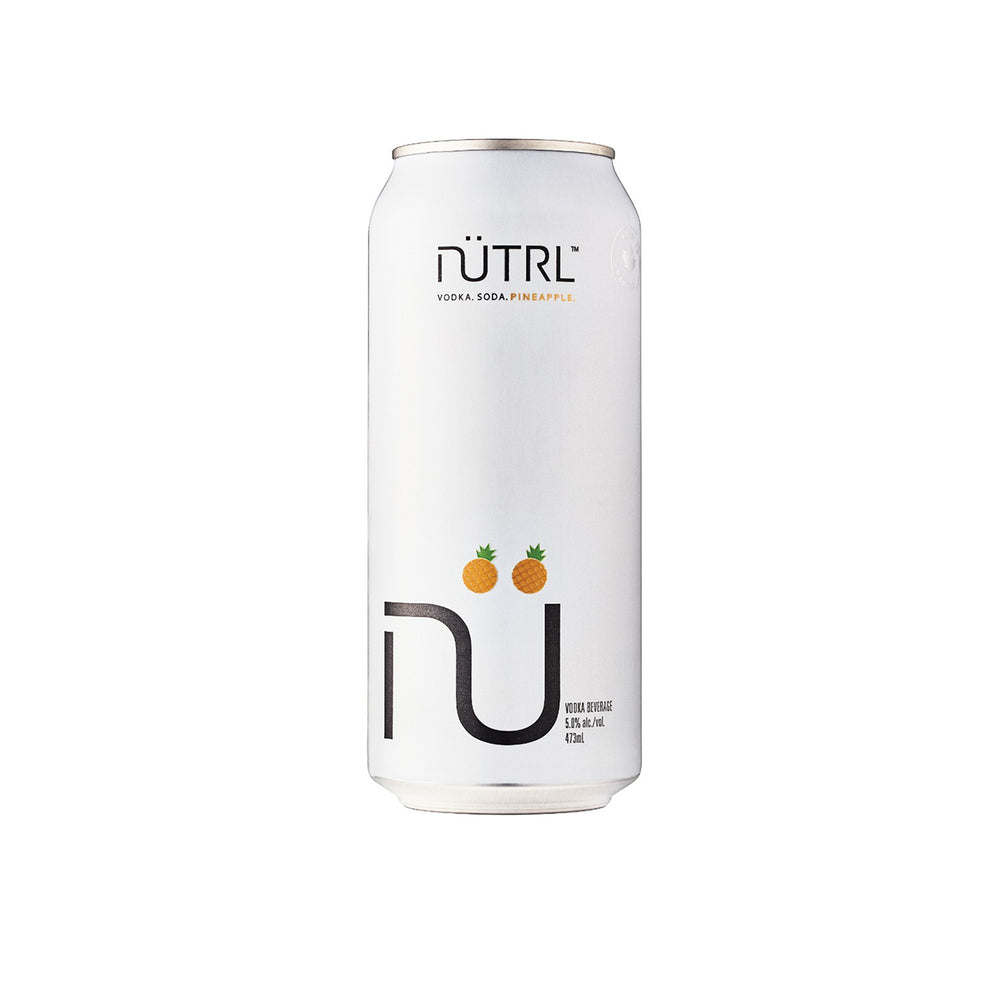 Nutrl Pineapple, Vodka Soda 473 mL