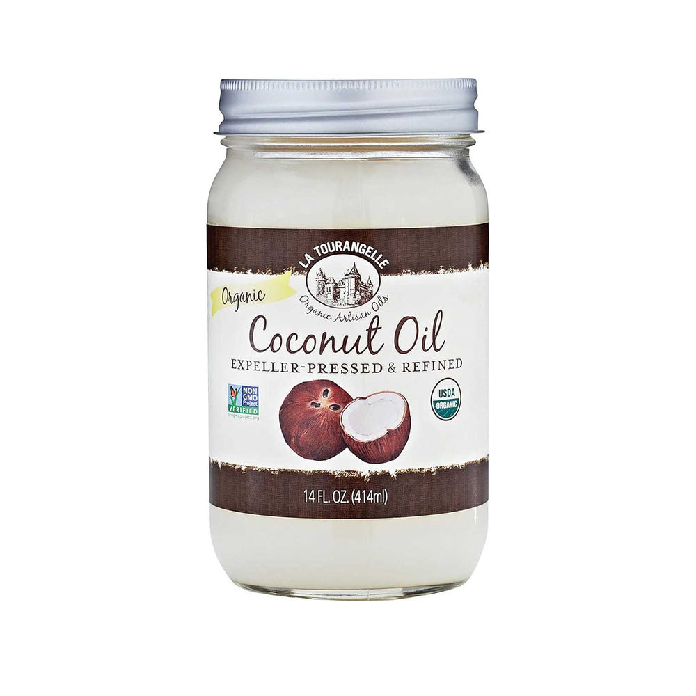 La Tourangelle 100%  Virgin Organic Coconut Oil - 414 mL
