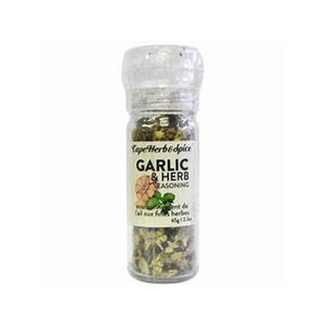Cape Herb & Spice, Garlic & Herb Seasoning Grinder - 64g