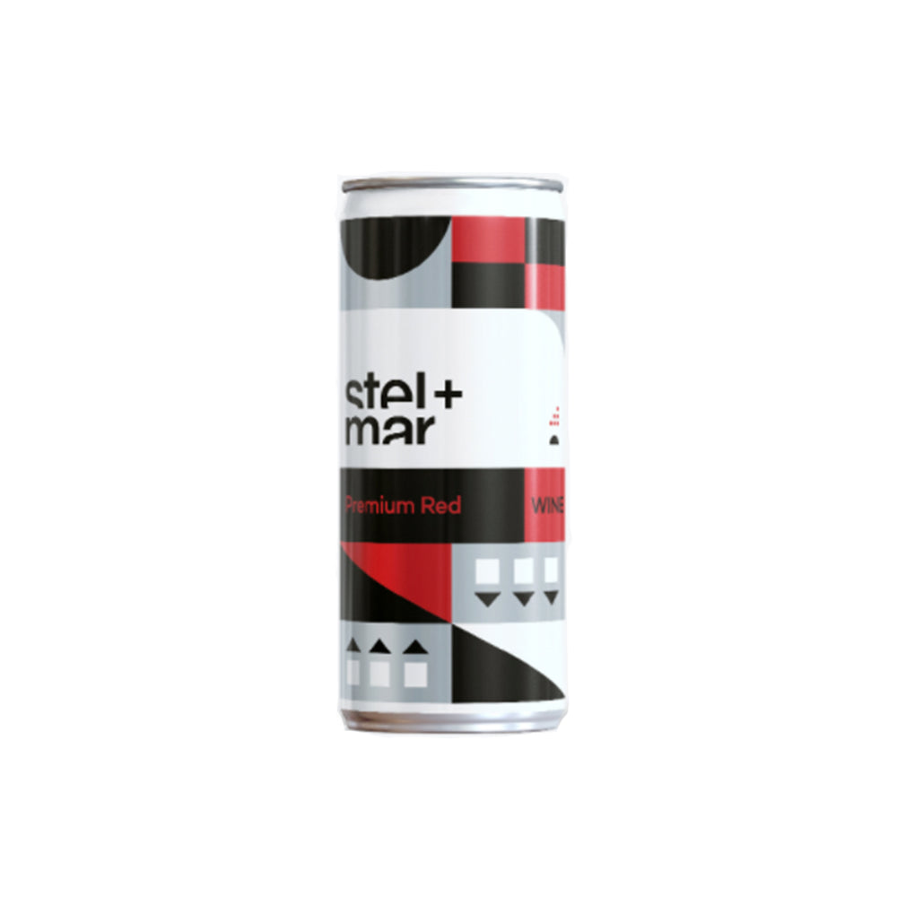 Stel + Mar Premium Red Wine - 250mL