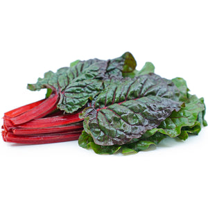 Next-Day Fresh, Red Swiss Chard - 1 bunch